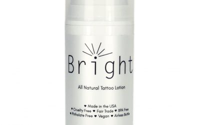 Bright Tattoo All Natural Lotion for Tattoo Aftercare